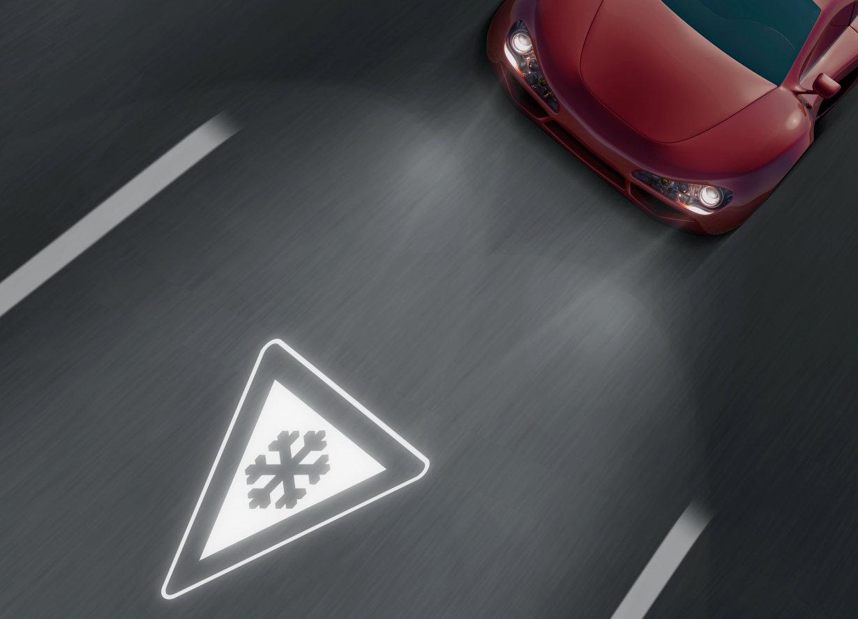 Die SFH 5701 A01 sorgt auch bei strahlendem Sonnenschein dafür, dass Navigationsgerät, Geschwindigkeitsanzeige und Co. für den Autofahrer gut erkennbar sind.