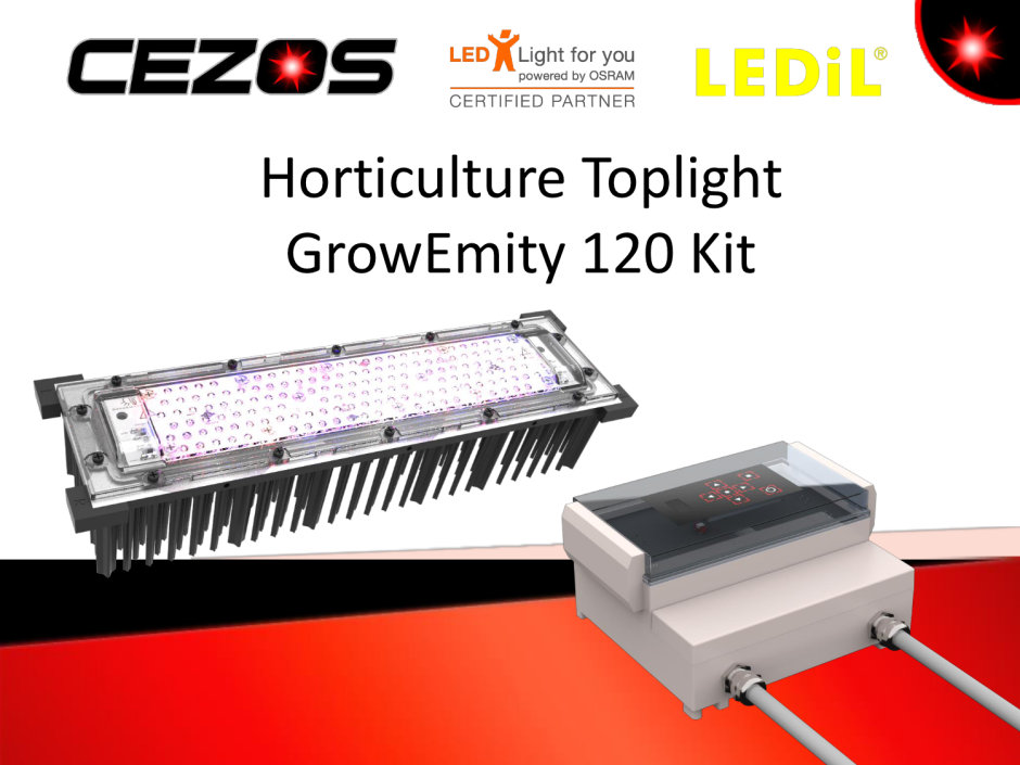 Horticulture Toplight Grow Emity 120 Kit