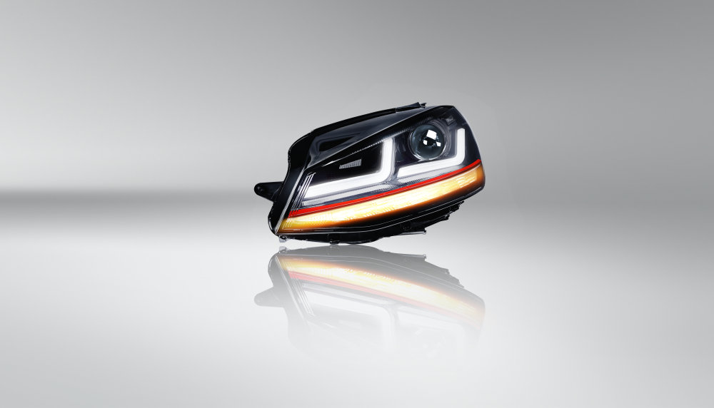 LEDriving headlight for VW Golf VII, GTI Edition