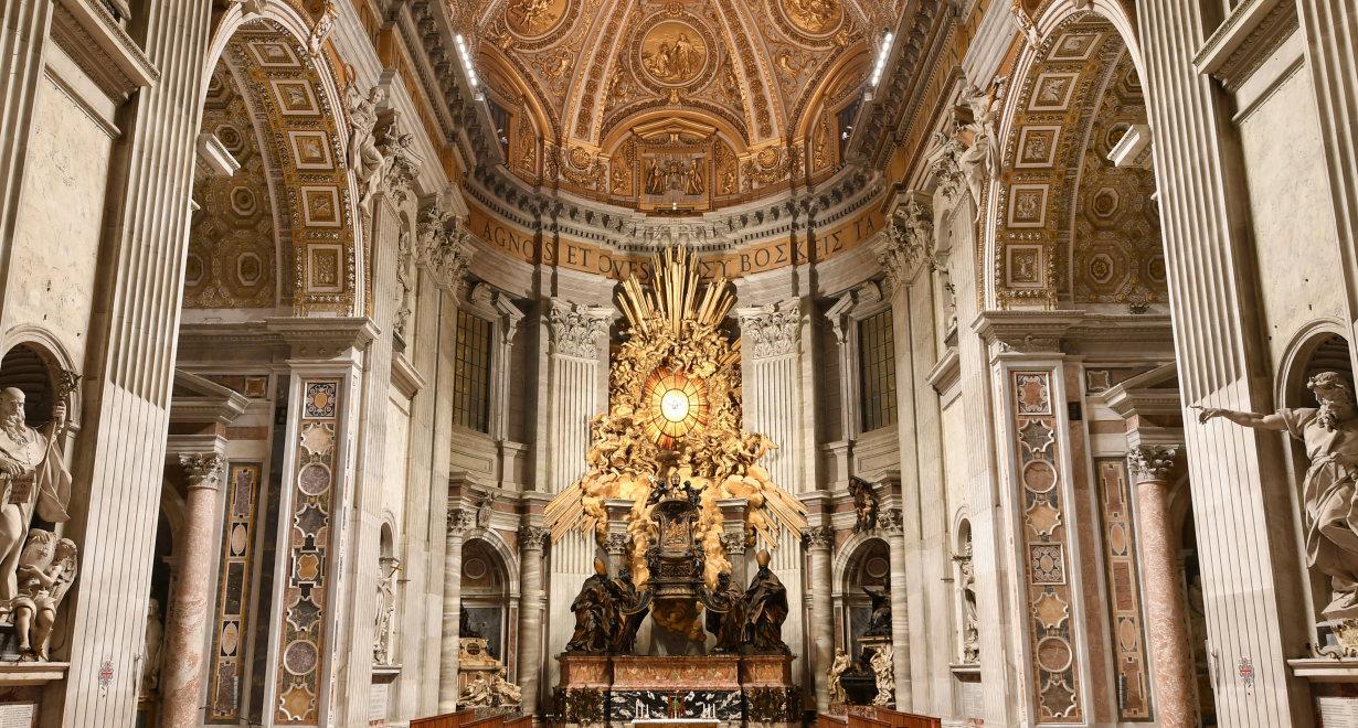 St Peter's Basilica - Copyright Reverenda Fabbrica di San Pietro