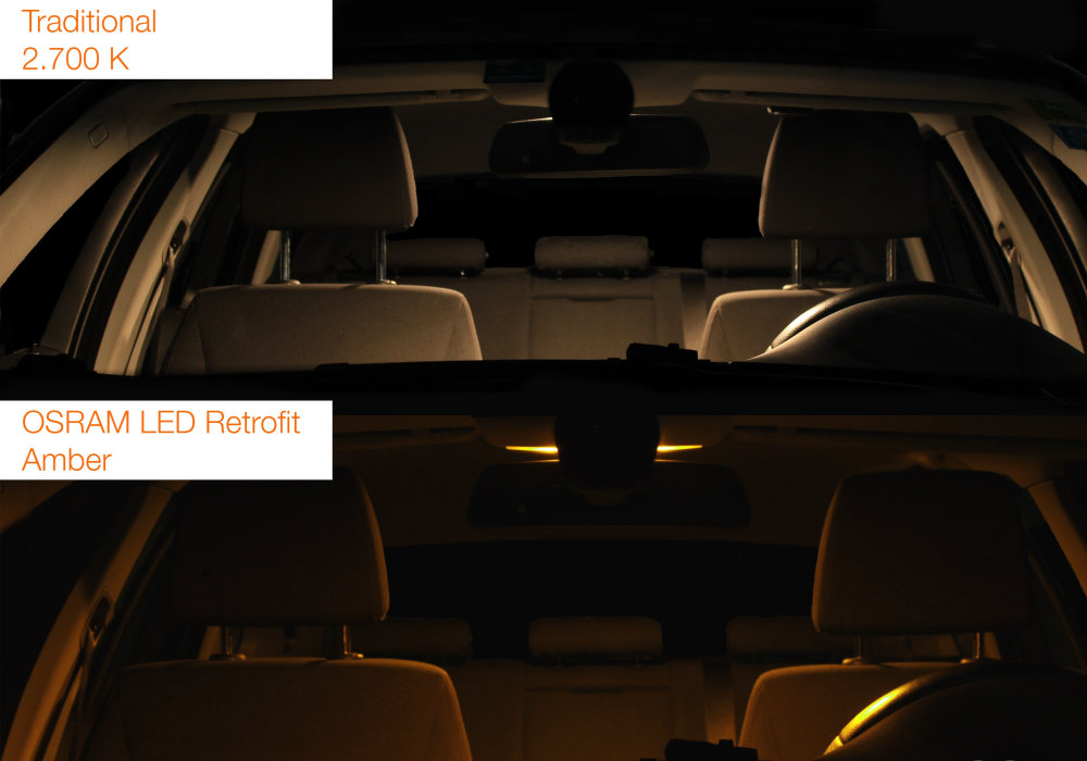 LEDriving LED retrofits Amber