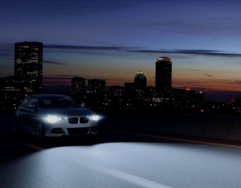 Iluminación de gran rendimiento para su automóvil