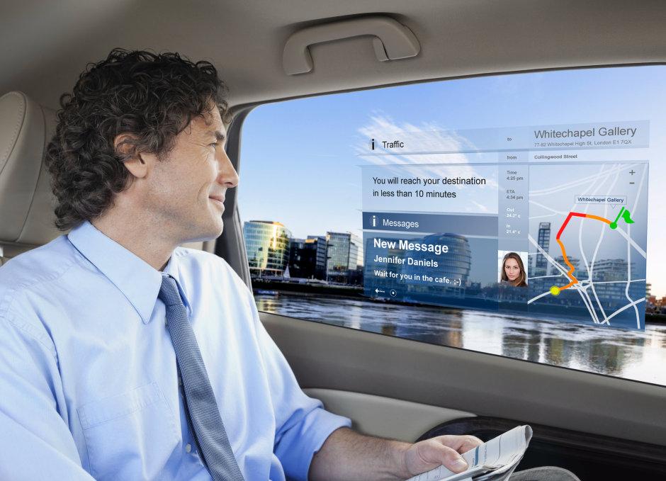 SmartVIZ项目将研究新的汽车内饰可视化概念,从而实现高分辨率透明背板上的成像场景。