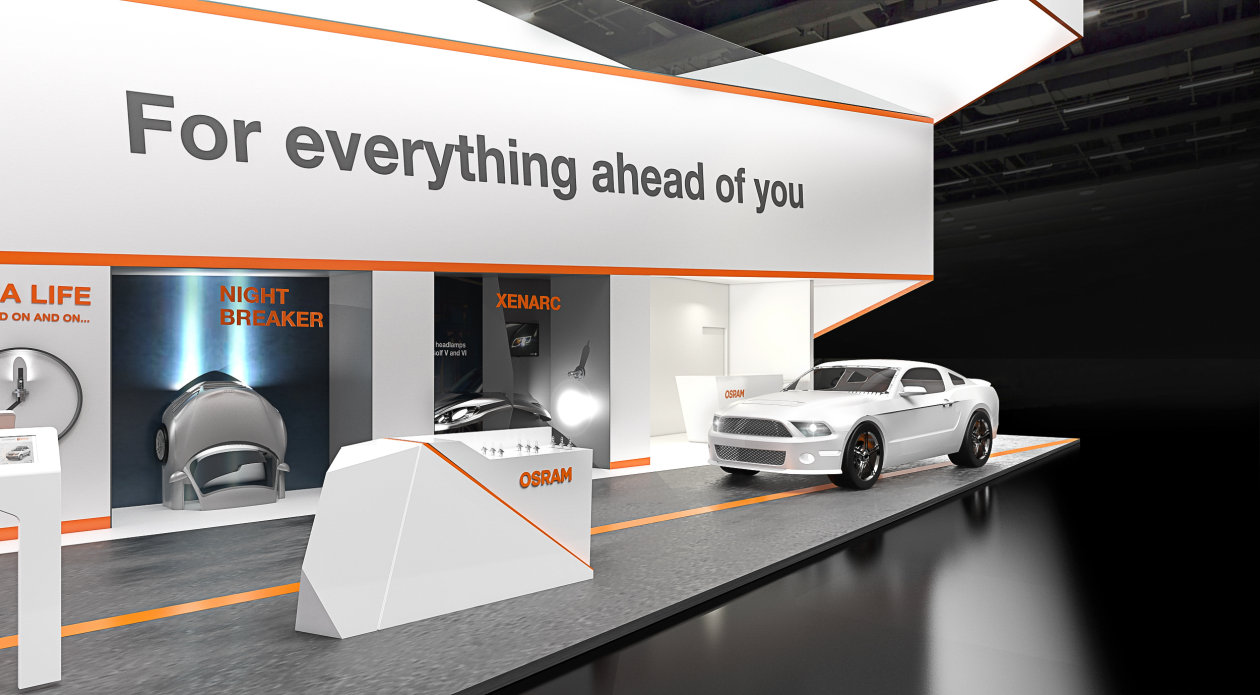 OSRAM booth at Automechanika 2016