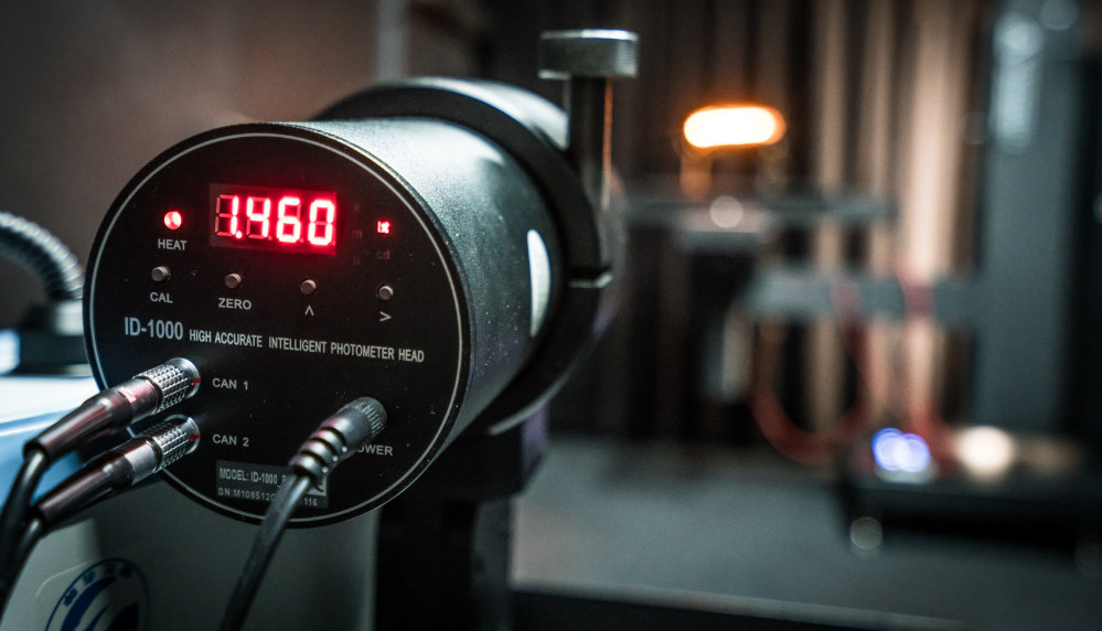 LEDriving Dynamic Mirror Indicator in goniometer