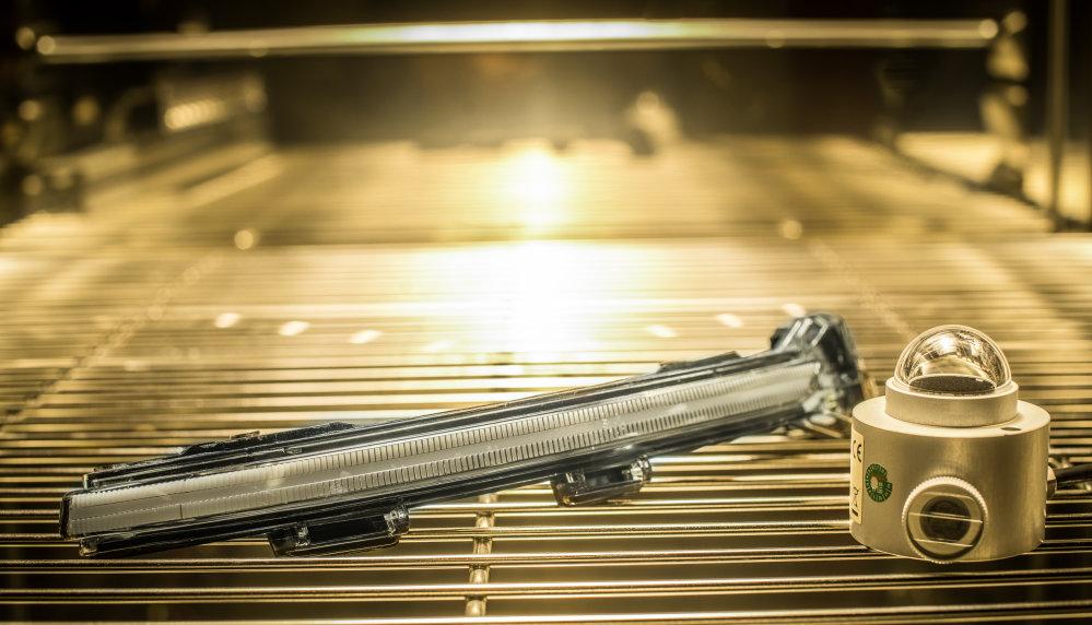 LEDriving Dynamic Mirror Indicator hőméréskleti tesztelése