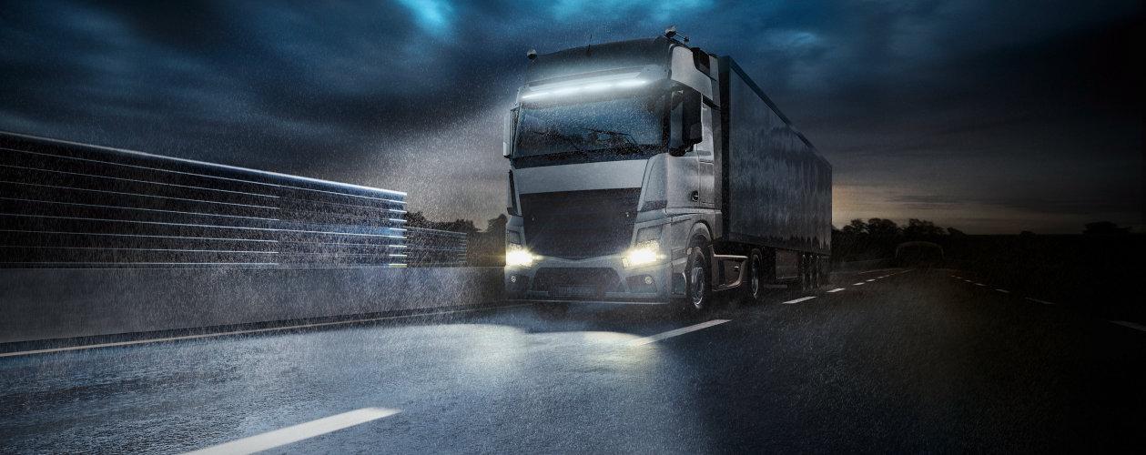 Světla pro nákladní vozy