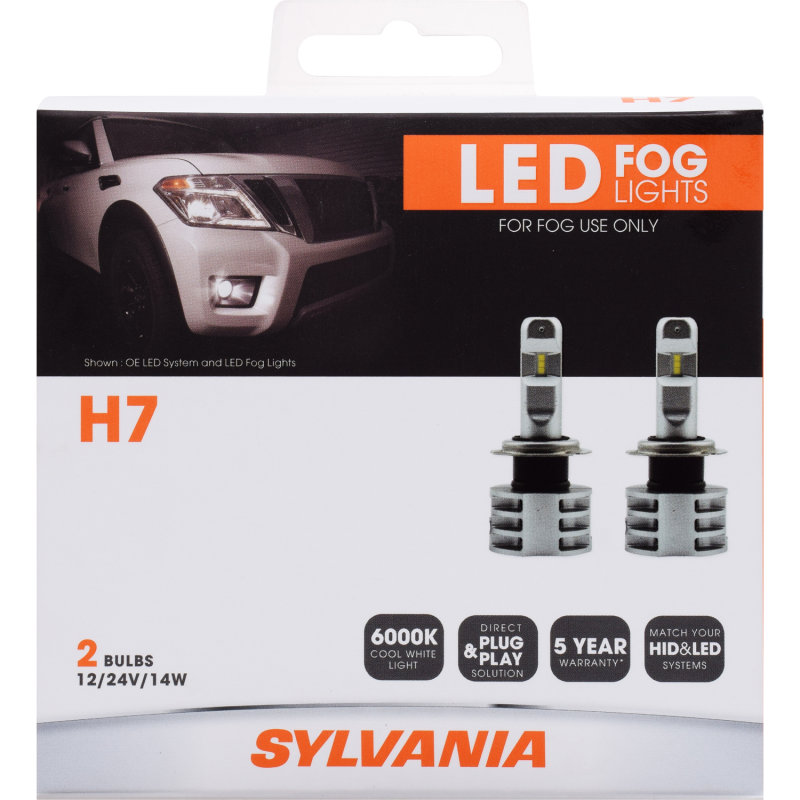 H7 LED Bulb - ZEVO Fog