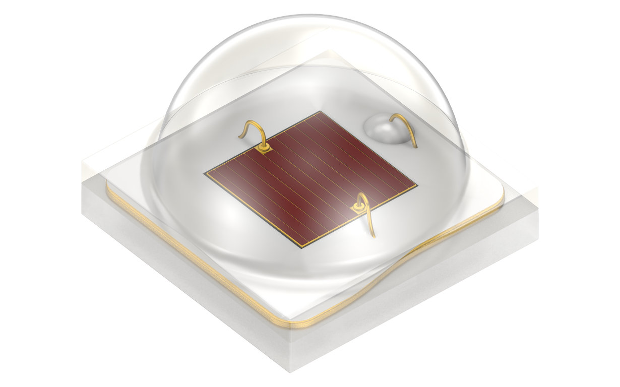 Osram is expanding its photonics portfolio for horticultural applications with the new generation of Oslon Square Hyper Red.