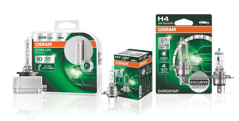 Garantieprozess für ULTRA LIFE-, XENARC ULTRA LIFE- und DUROSTAR-Lampen