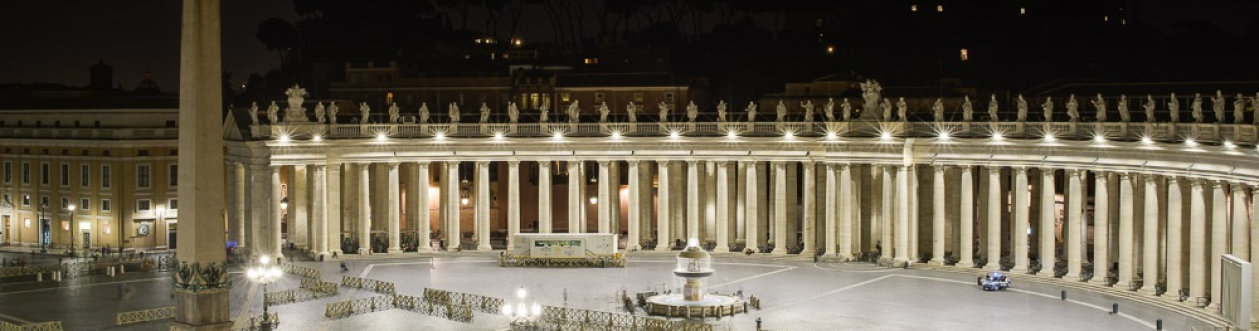 St. Peter`s Square, Vatican, Rome