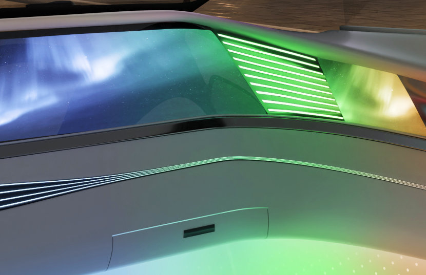 The OSIRE E3635 is especially designed for automotive applications (interior) and RGB displays.