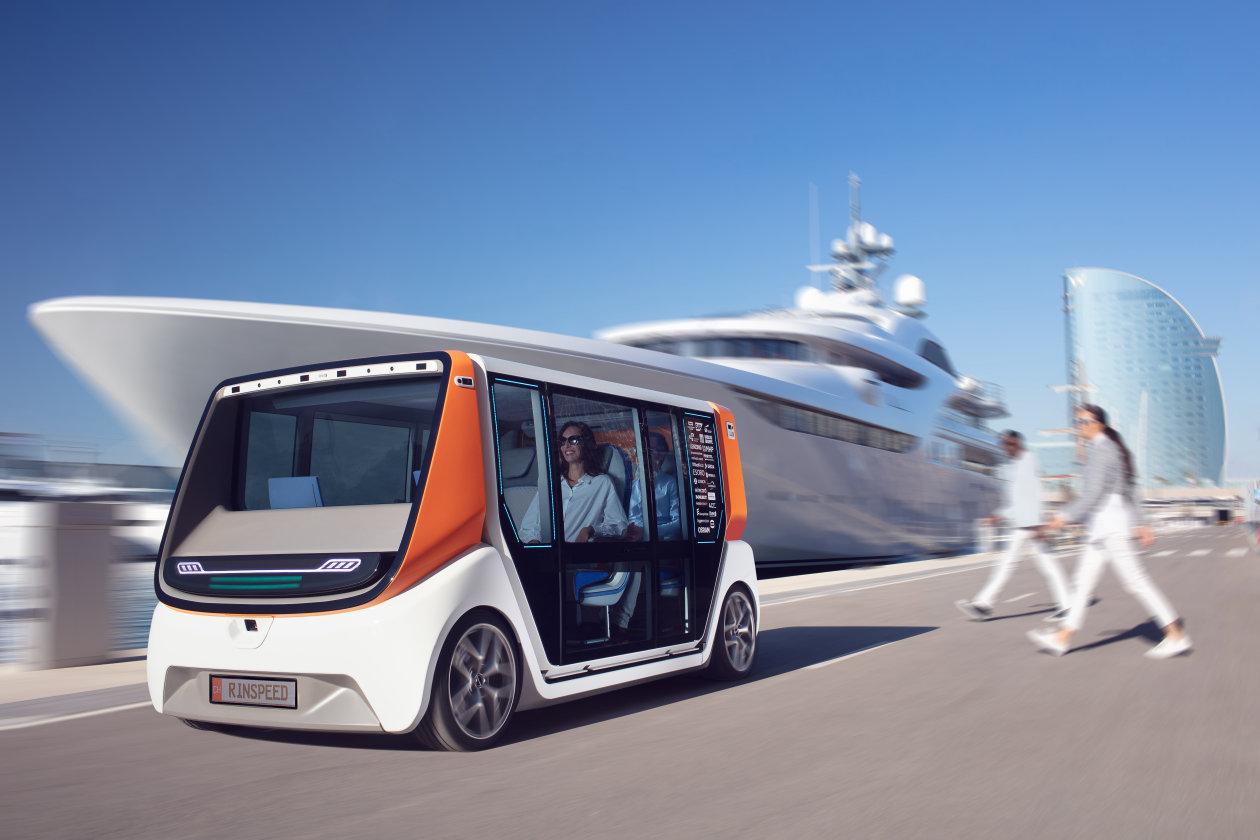 metroSNAP Rinspeed concept car 2020