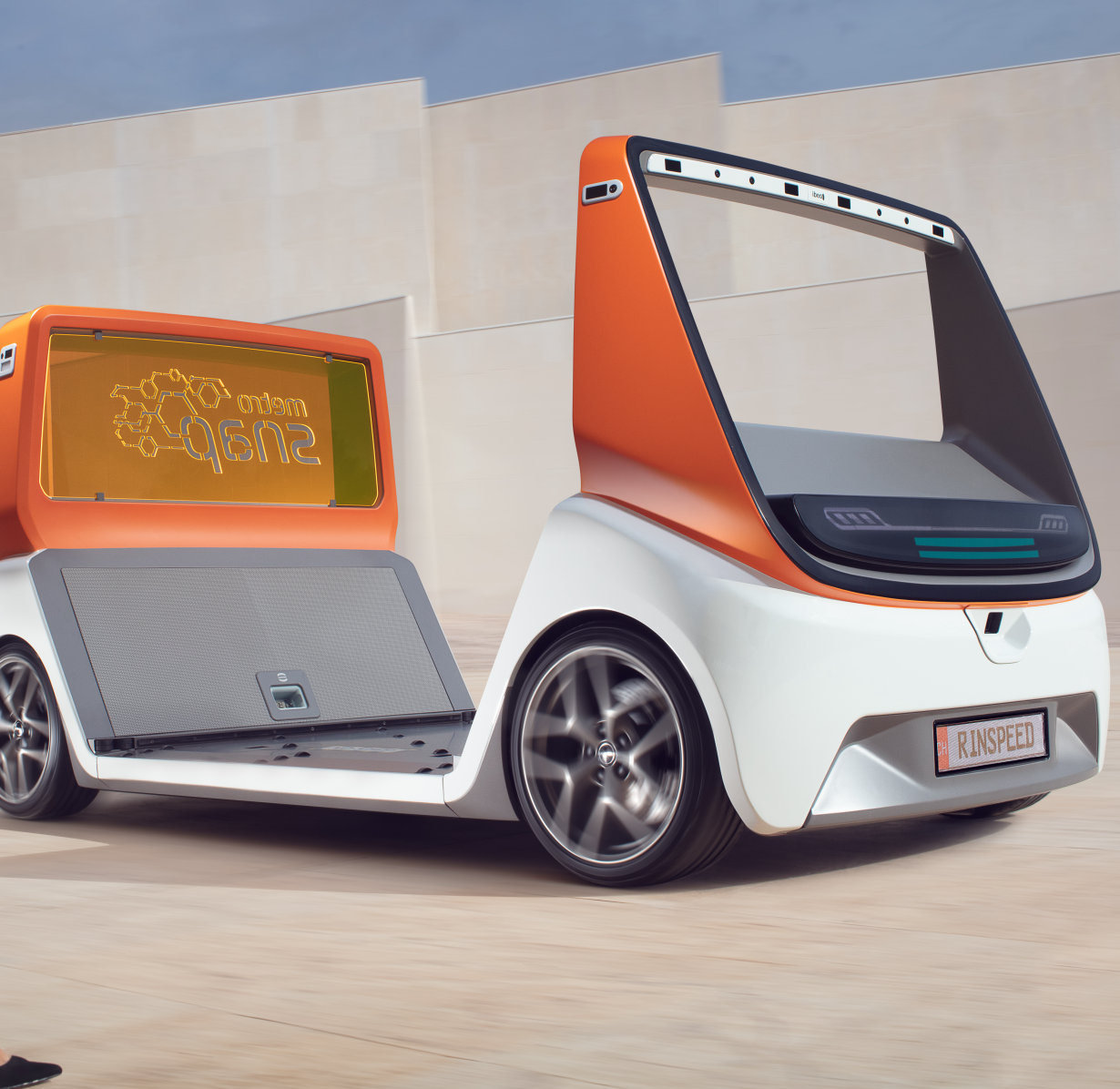 RINSPEED metroSNAP: Concept Car