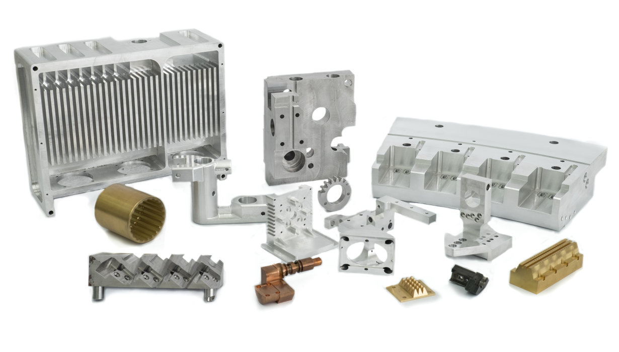 Parts production - example of produced parts