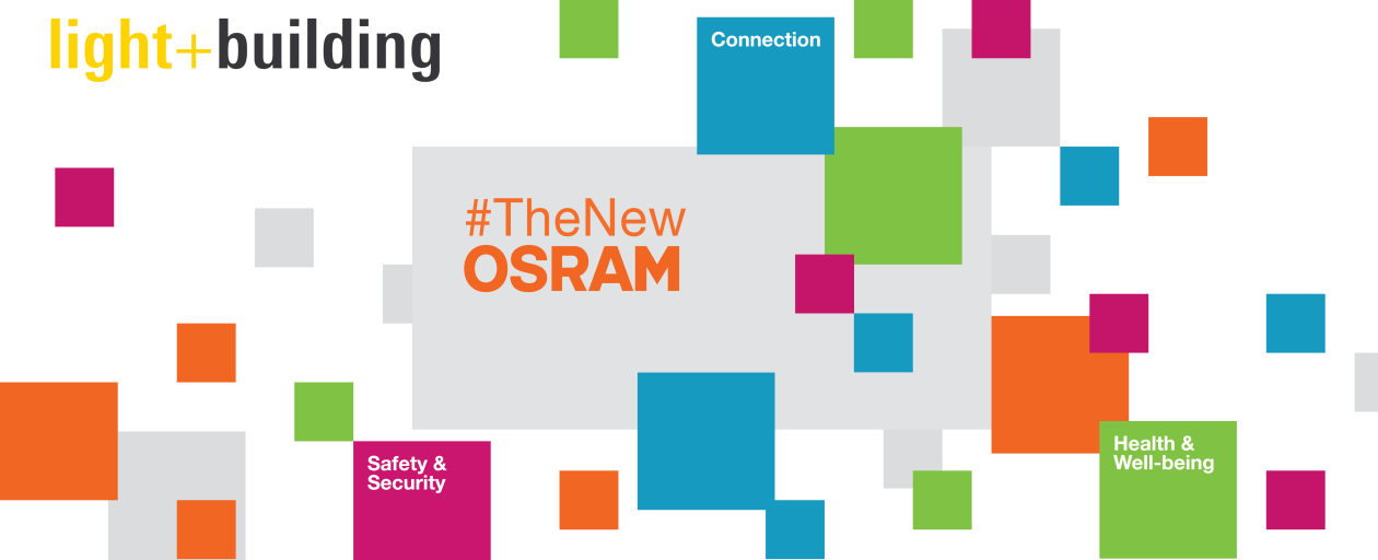 #TheNewOSRAM at Light + Building 2020