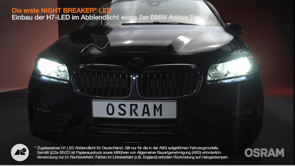 Einbauanleitung: NIGHT BREAKER LED in 2er BMW
