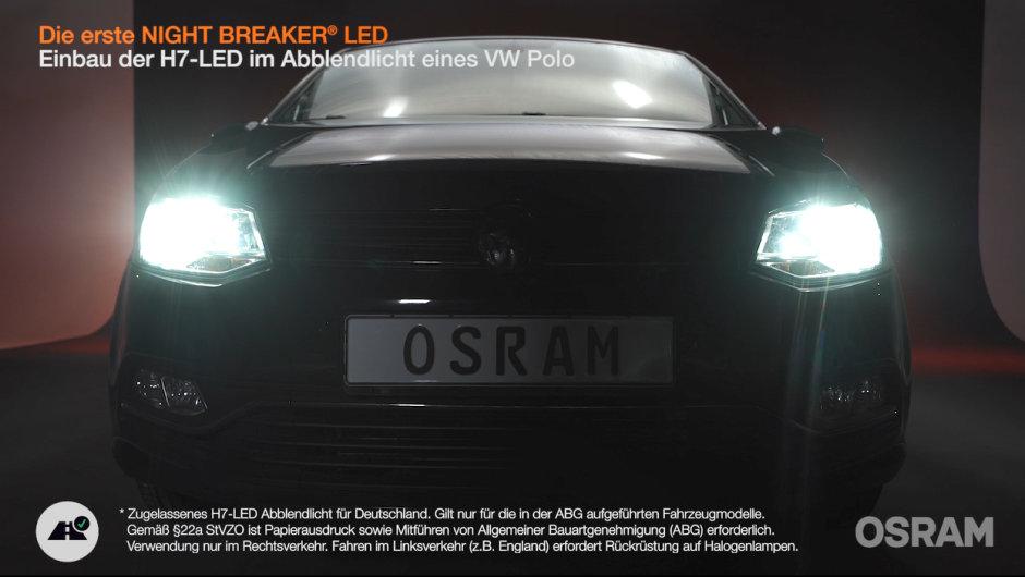 Einbauanleitung: NIGHT BREAKER LED in VW Polo