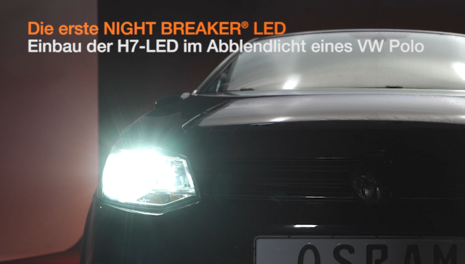 Einbauanleitung: NIGHT BREAKER LED in VW Polo