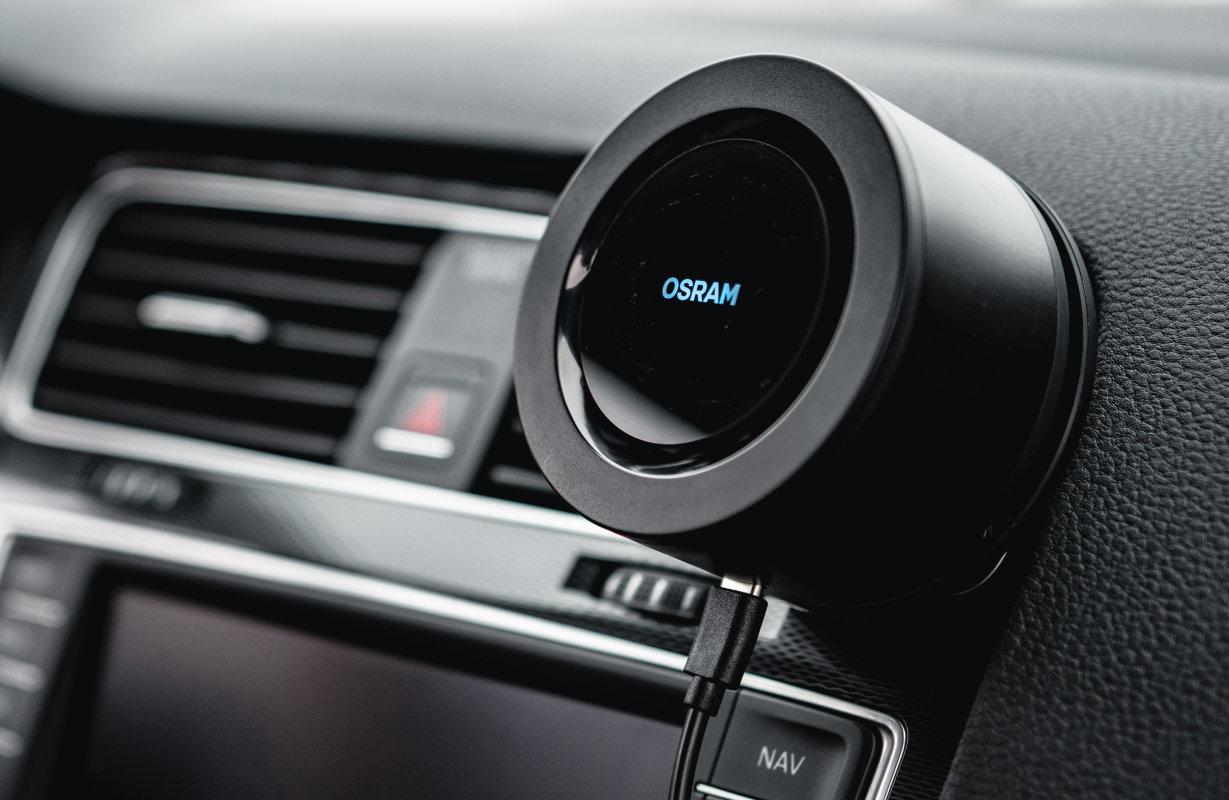Портативный УФ-очиститель воздуха OSRAM AirZing™