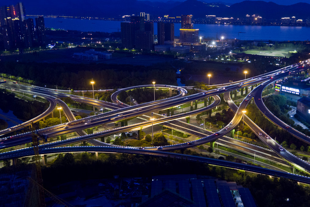 Osram Opto Semiconductors Provide Stable and Brilliant Lighting for Hangzhou's Shidai Viaduct