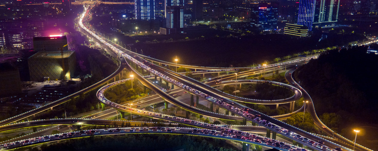 A bird-eye view of Shidai Viaduct