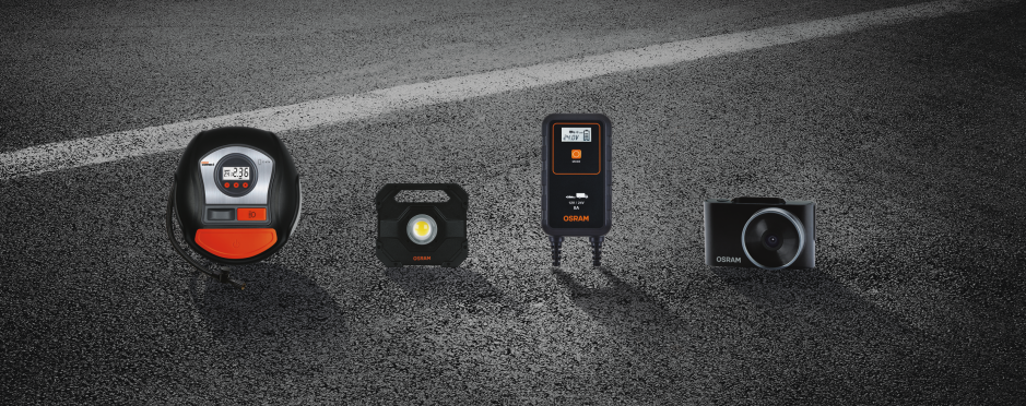 OSRAM Automotive care and equipment portfolio