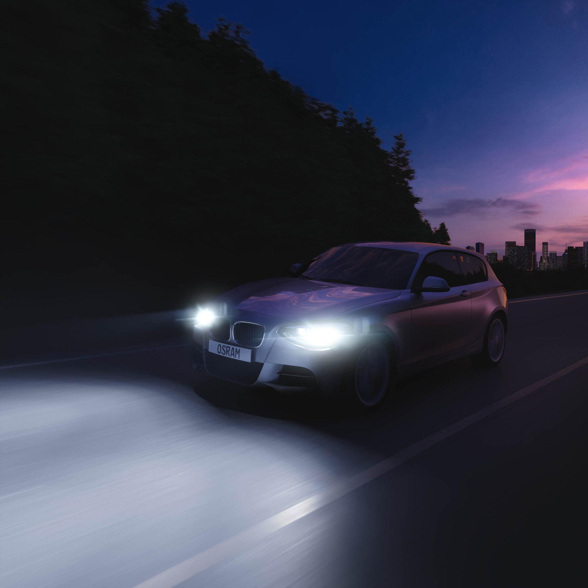 Lampes halogènes pour voitures