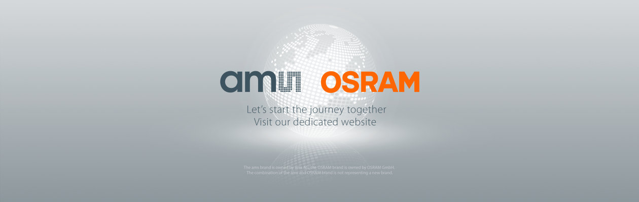About ams and OSRAM