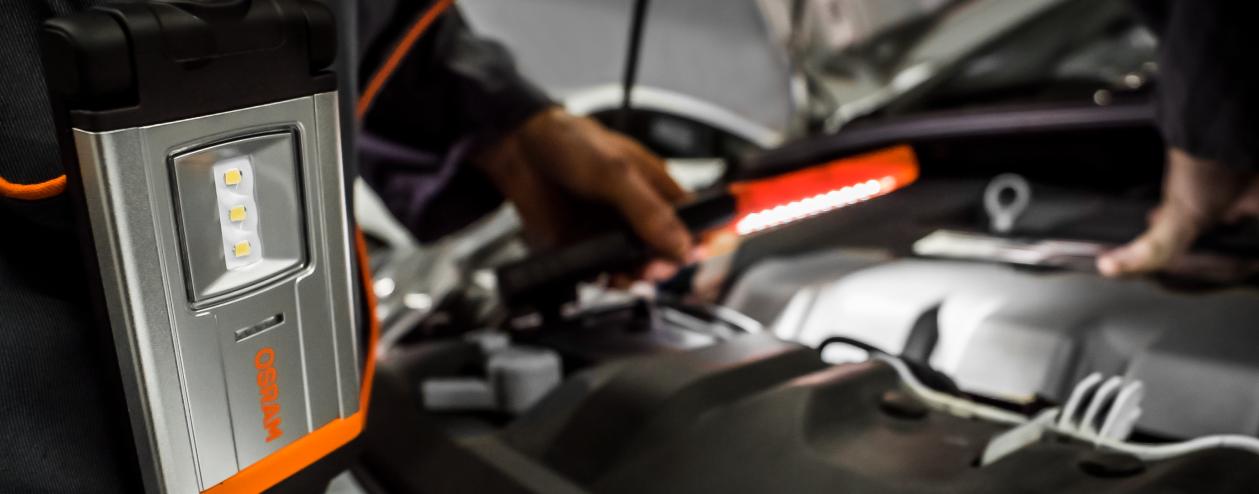 Servisní svítilny s LED pro profesionály
