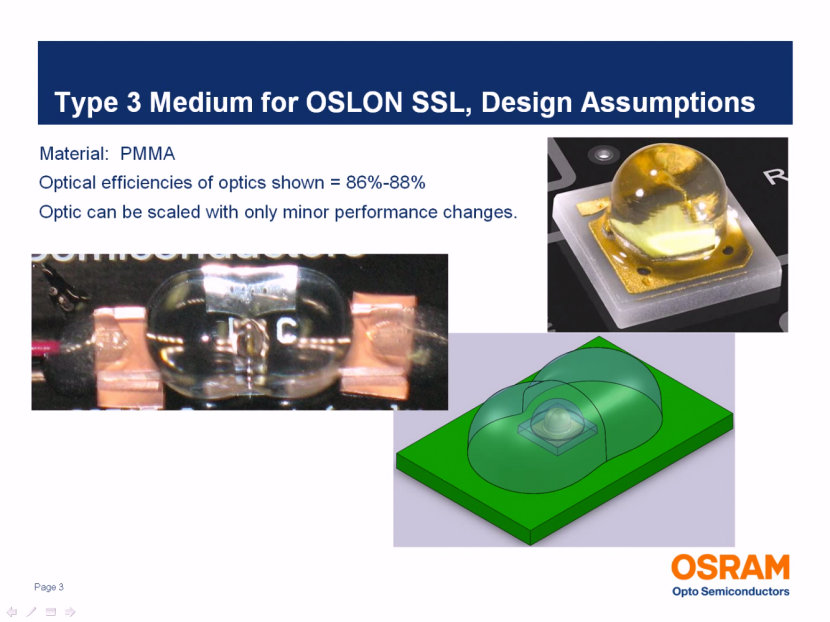 Optical Solution for U.S. Type 3 Medium Streetlight from OSRAM Opto Semiconductors