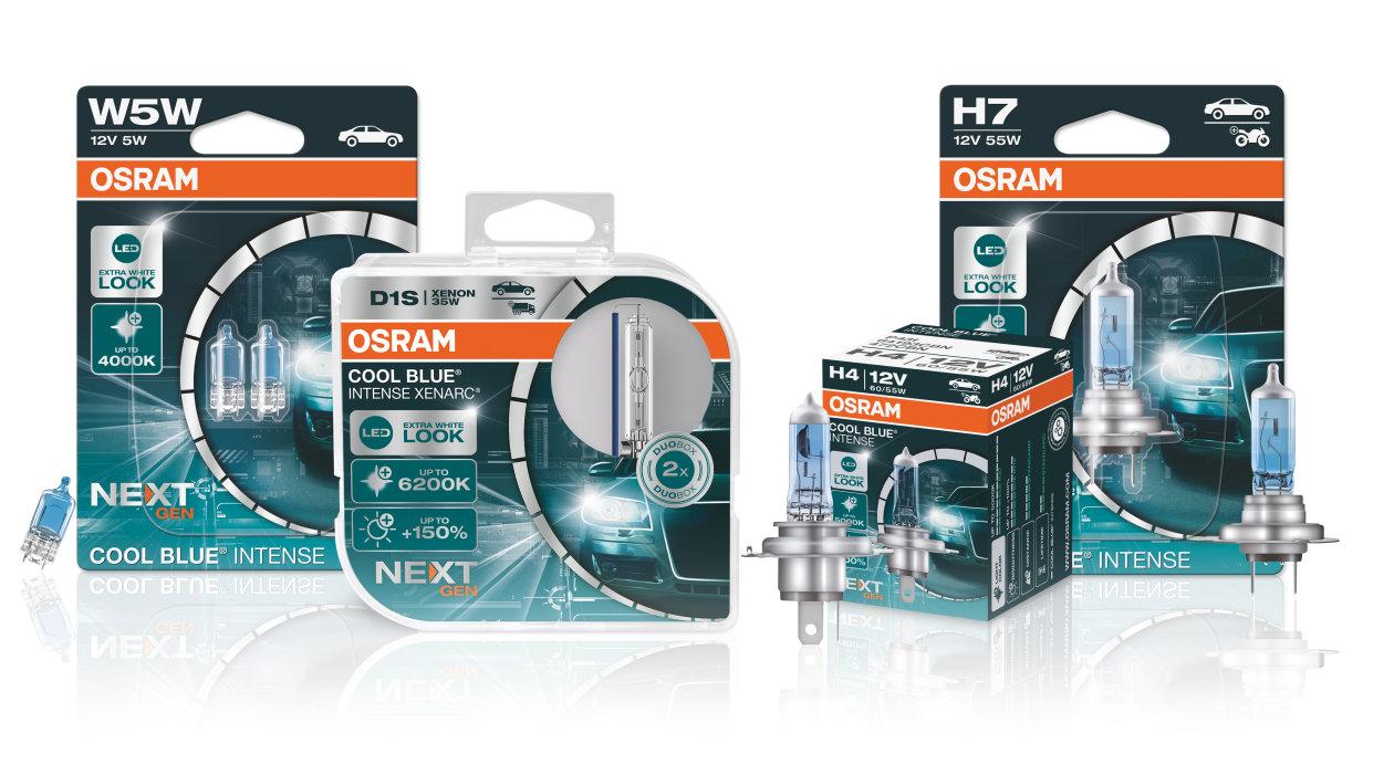Автомобильные лампы OSRAM Cool Blue Intense Next Gen