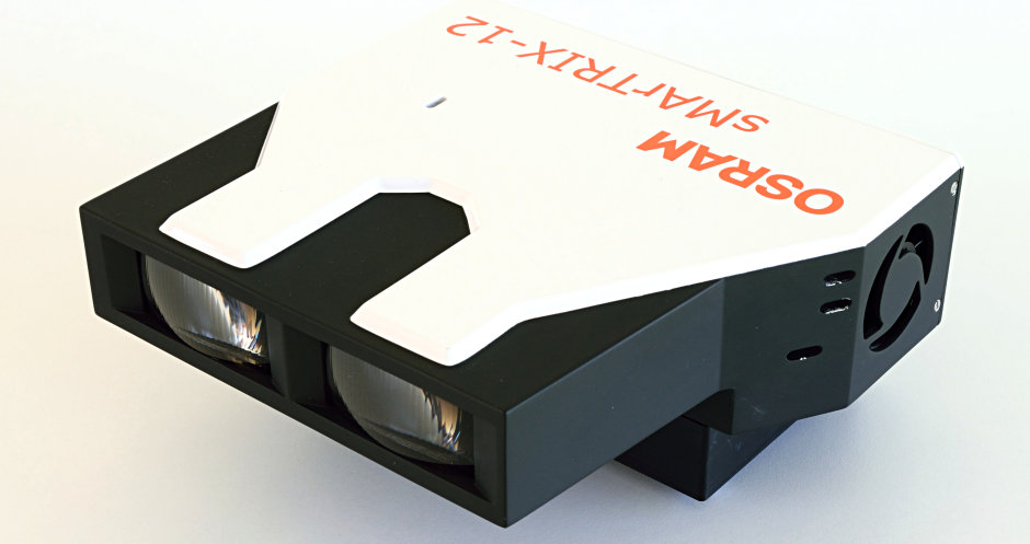 Osram entwickelt SMARTRIX-Module mit innovativen und langlebigen Silikonoptiken.