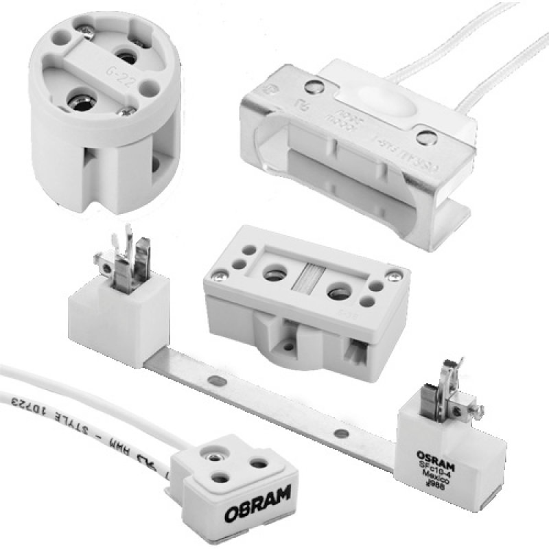 Specialty High Temperature Lampholders / Sockets
