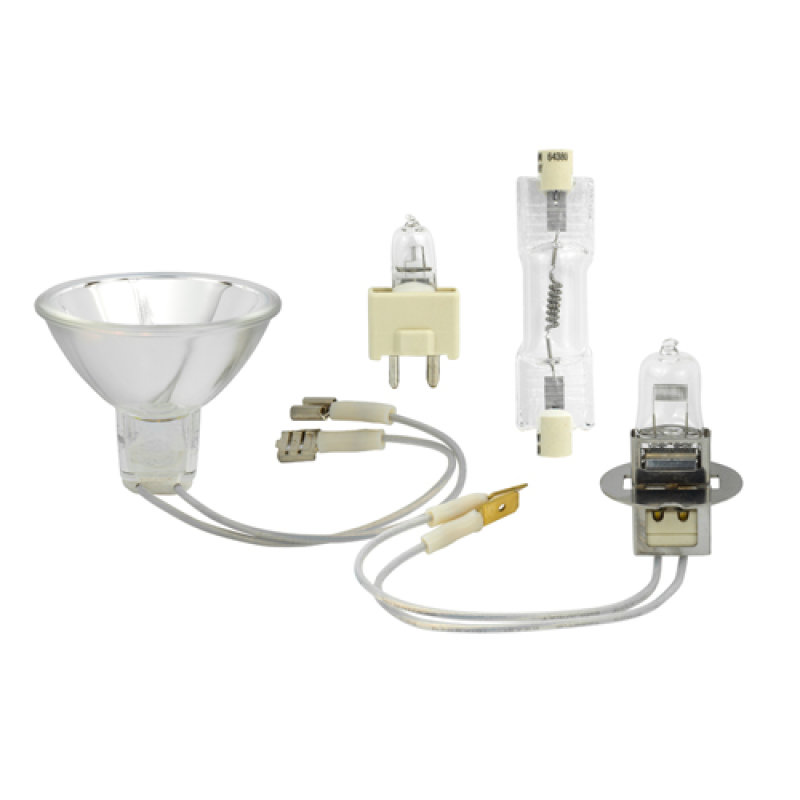 6.6A Current Controlled Halogen Lamps