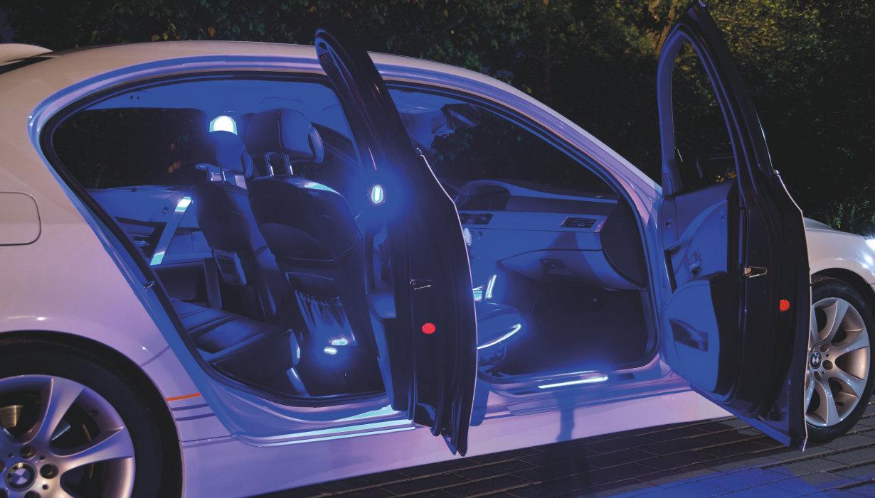 Elegant fordonsbelysning
