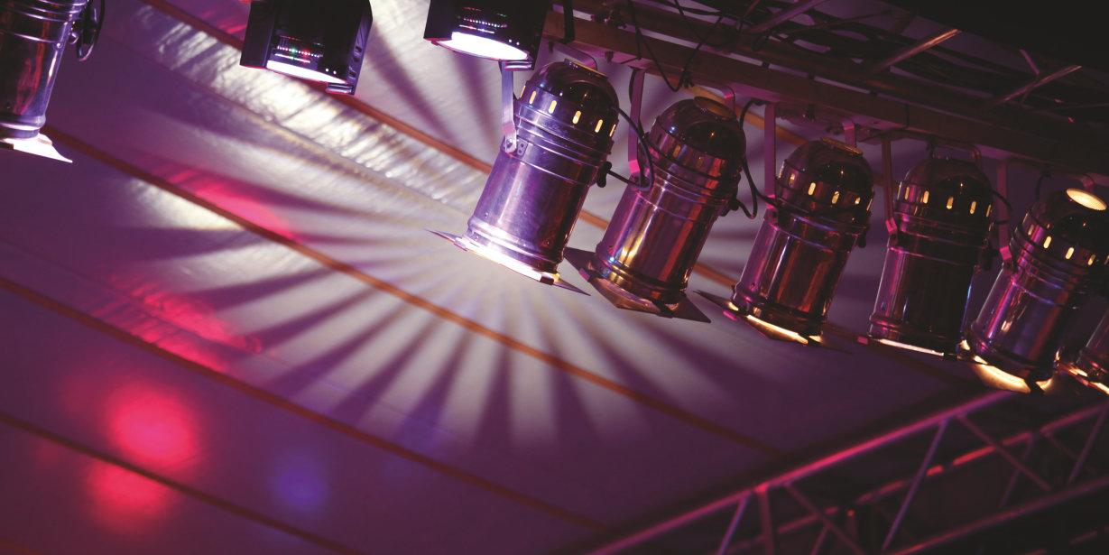 LED stage lighting spot