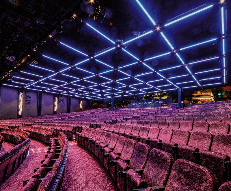 Belysning för biografer och projektion