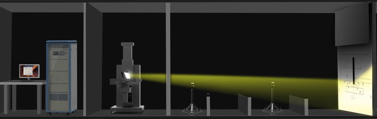Lichtstärkeverteilung (Goniometer)