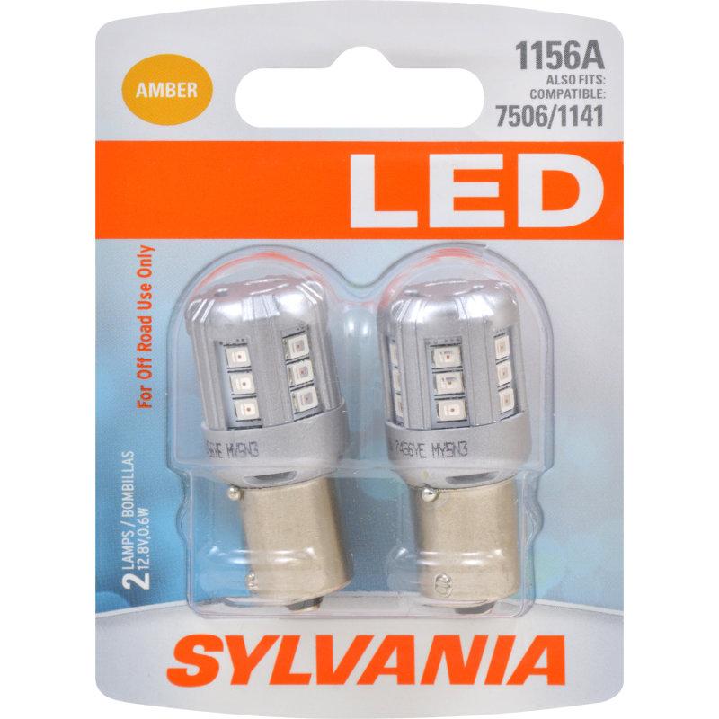 1156A (AMBER) LED Bulb