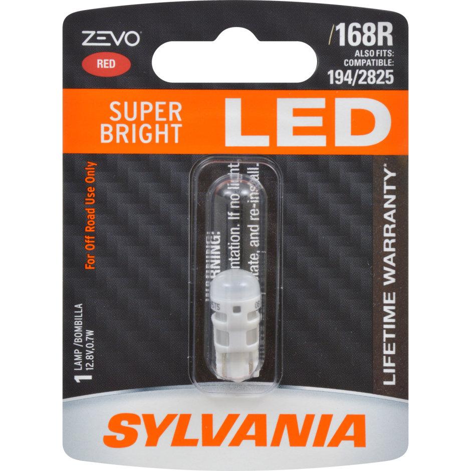 168R (RED) LED Bulb - ZEVO