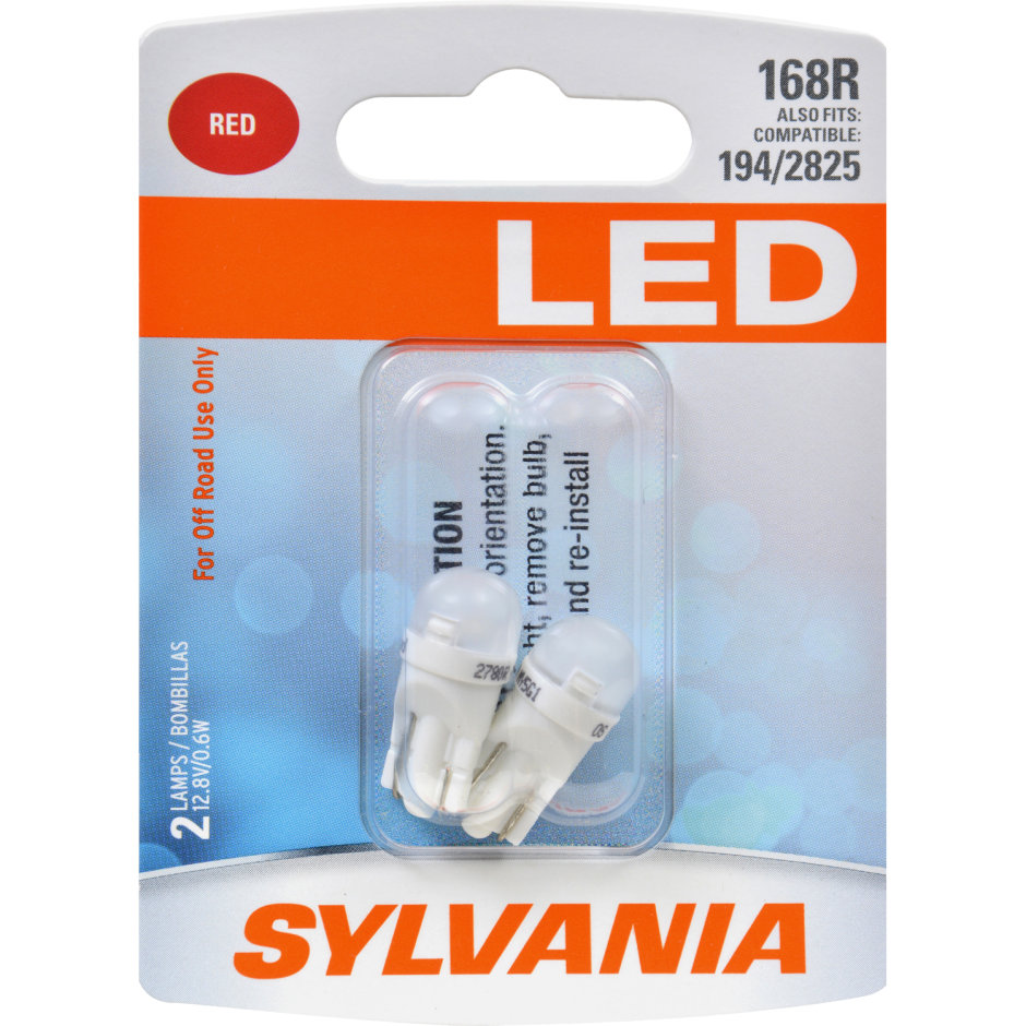 168R (RED) LED Bulb