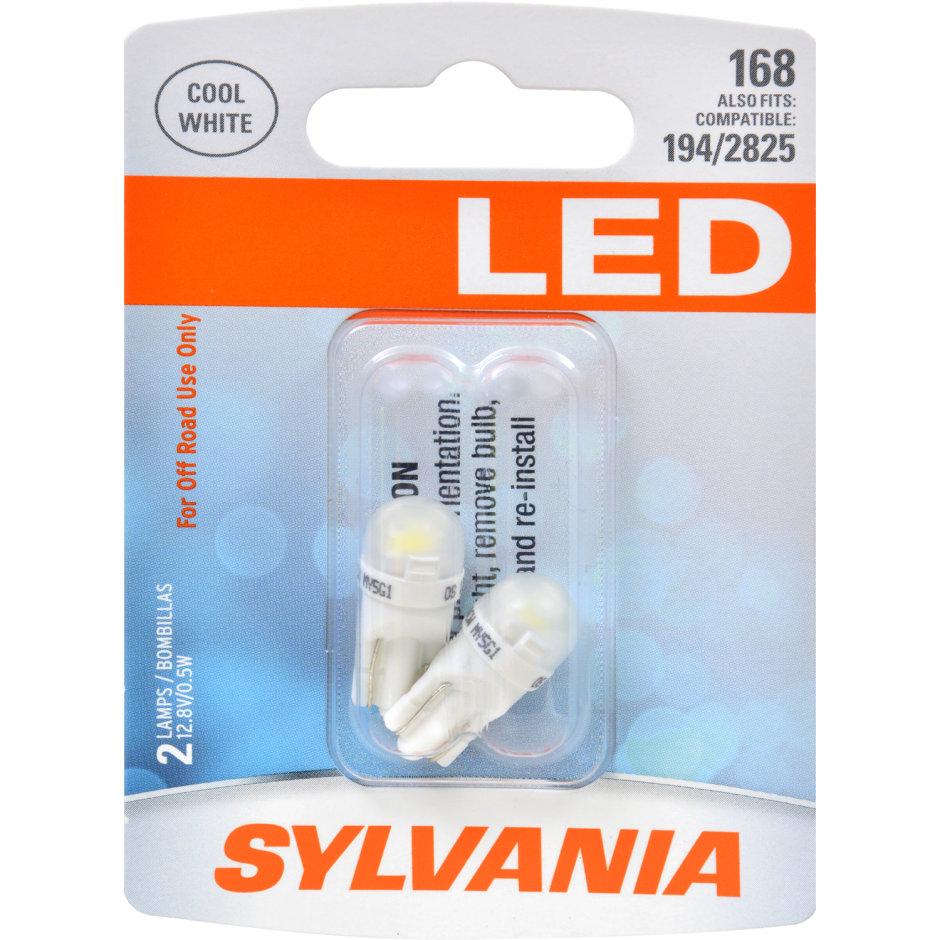 168 (WHITE) LED Bulb
