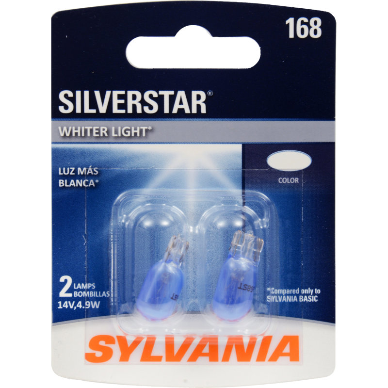 168 Incadescent Bulb - SilverStar
