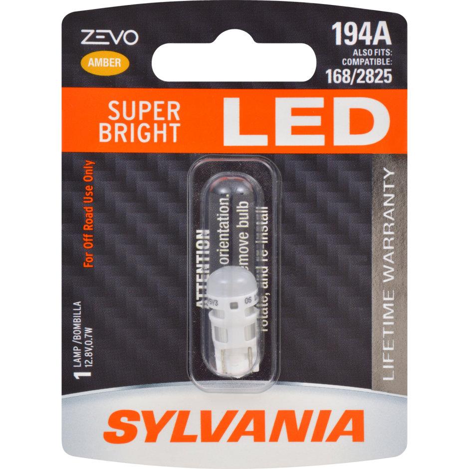 194A (AMBER) LED Bulb - ZEVO