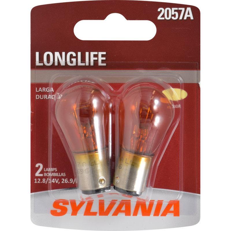 2057A (AMBER) Incandescent Bulb - LongLife