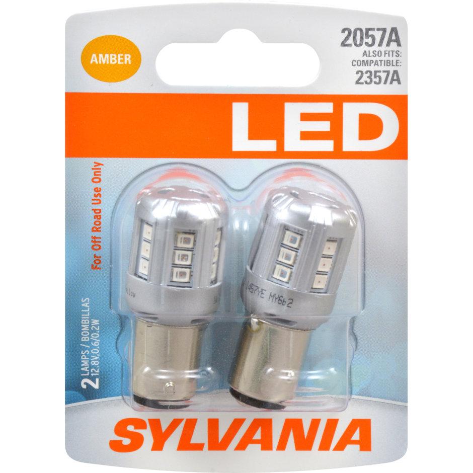 2057A (AMBER) LED Bulb