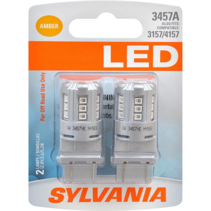 3457A (AMBER) LED Bulb