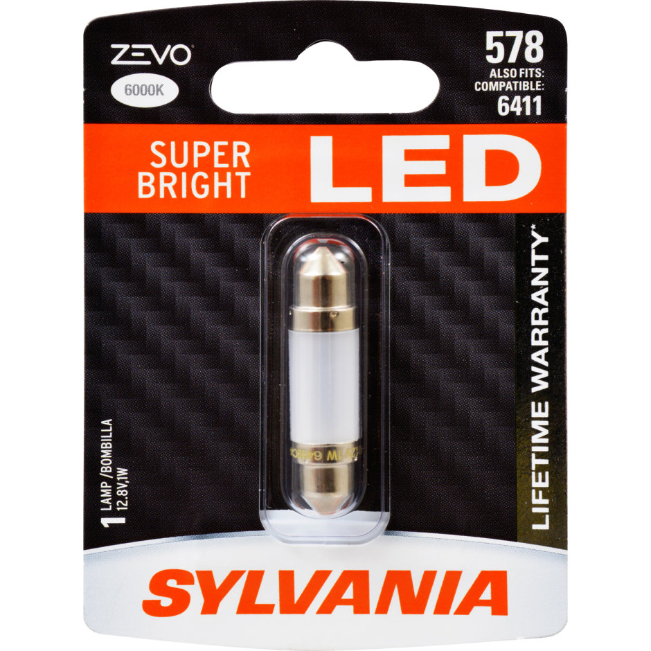 578 (WHITE) LED Bulb - ZEVO