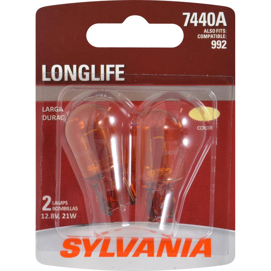 7440A (AMBER) Incandescent Bulb - LongLife